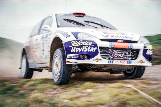 Rally photography - Ford Focus WRC