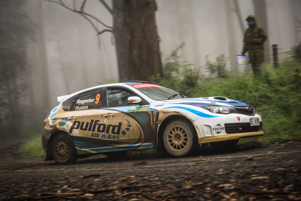 Rally photographer Subaru Impreza STI