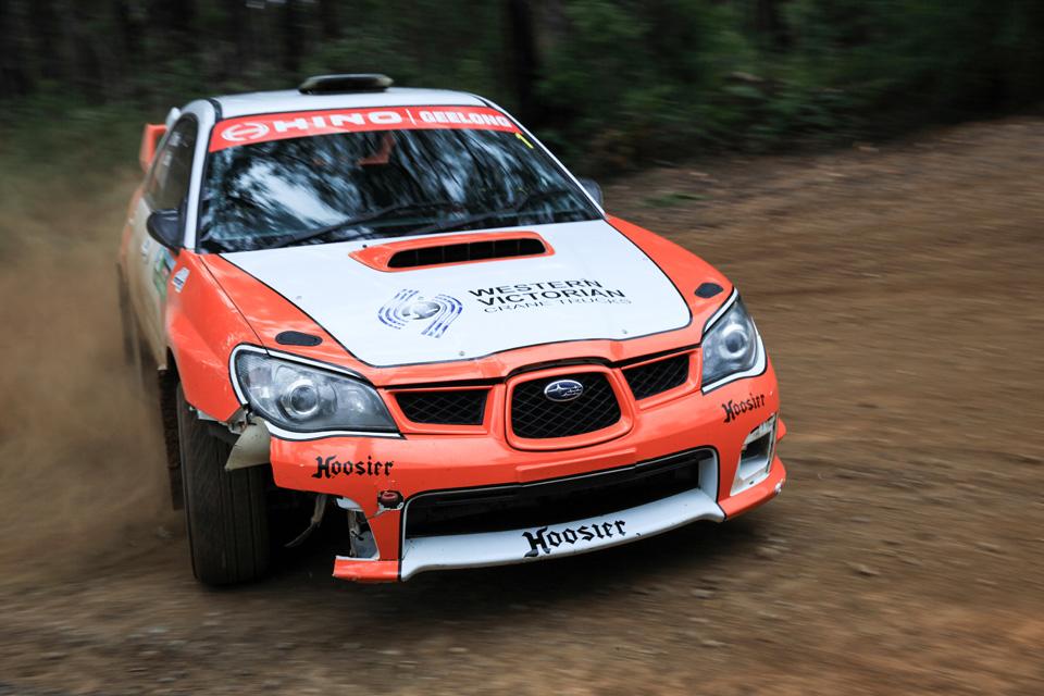 Rally photographer Subaru Impreza STi